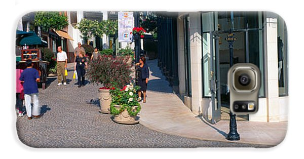 Rodeo Drive, Beverly Hills, California Galaxy S6 Case by Panoramic Images