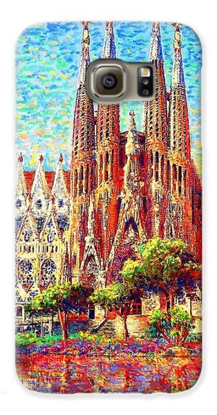 Sagrada Familia Galaxy S6 Case by Jane Small