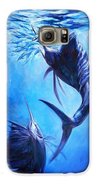 Sailfish And Ballyhoo Galaxy S6 Case by Tom Dauria