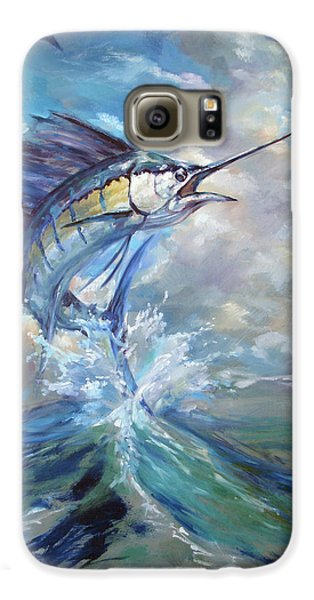 Sailfish And Frigate Galaxy S6 Case by Tom Dauria