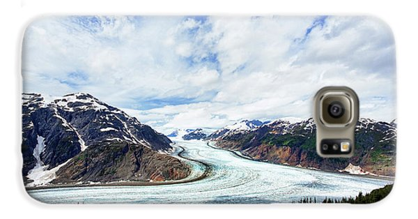 Salmon Glacier Galaxy S6 Case by Heidi Brand