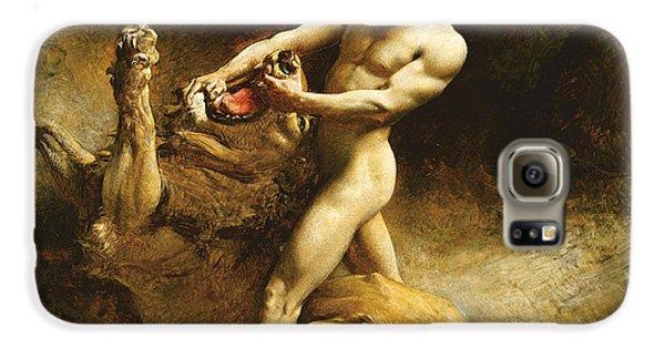 Samson's Youth Galaxy S6 Case by Leon Joseph Florentin Bonnat