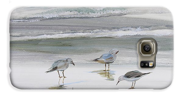 Sandpipers Galaxy S6 Case by Julianne Felton