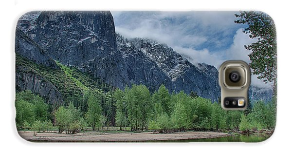 Sentinel Rock After The Storm Galaxy S6 Case by Bill Roberts