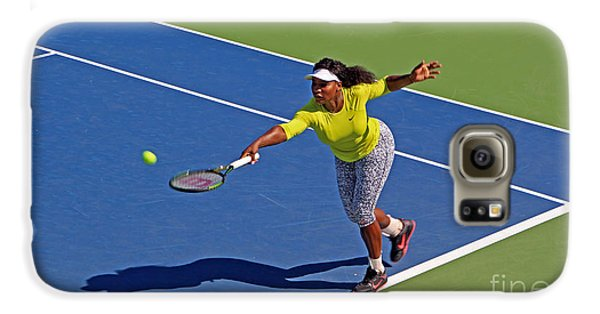 Serena Williams 1 Galaxy S6 Case by Nishanth Gopinathan