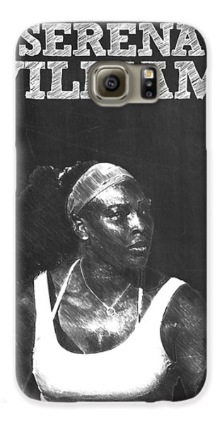 Serena Williams Galaxy S6 Case by Semih Yurdabak