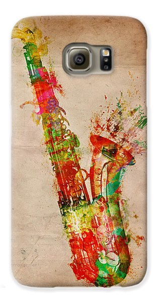 Sexy Saxaphone Galaxy S6 Case by Nikki Smith