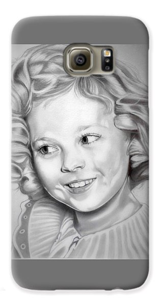 Shirley Temple Galaxy S6 Case by Fred Larucci