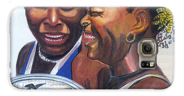 Sisters Williams Galaxy S6 Case by Emmanuel Baliyanga
