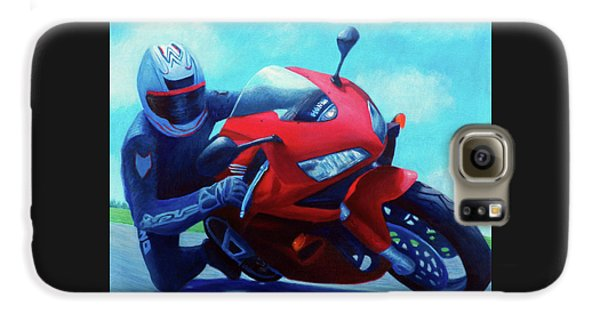 Sky Pilot - Honda Cbr600 Galaxy S6 Case by Brian  Commerford