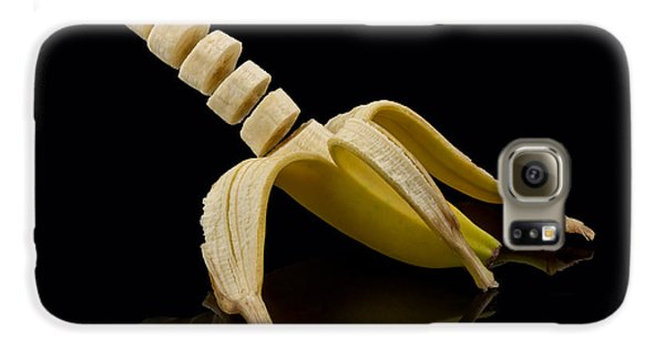 Sliced Banana Galaxy S6 Case by Gert Lavsen