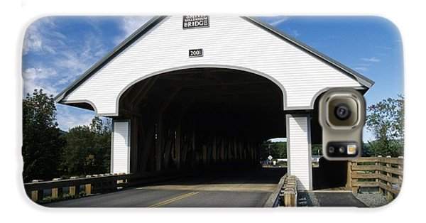 Smith Covered Bridge - Plymouth New Hampshire Usa Galaxy S6 Case by Erin Paul Donovan