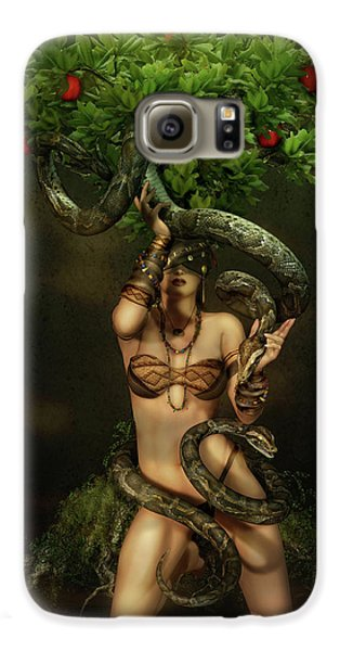 Snake Charmer Galaxy S6 Case by Shanina Conway