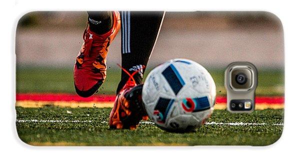 Soccer Galaxy S6 Case by Hyuntae Kim