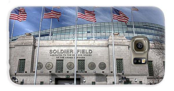Soldier Field Galaxy S6 Case by David Bearden