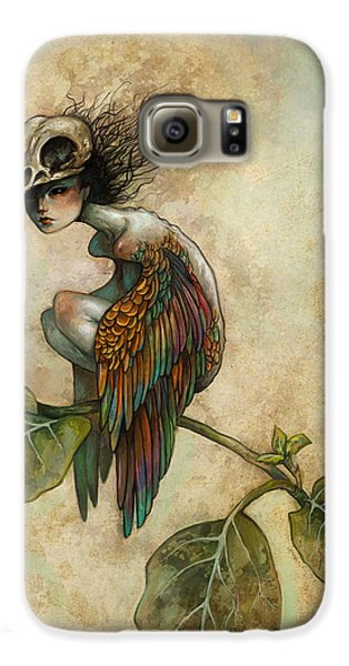 Soul Of A Bird Galaxy S6 Case by Caroline Jamhour
