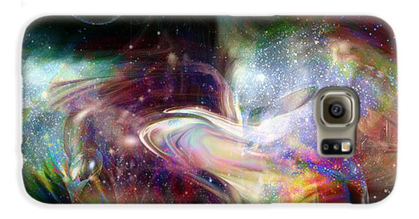 Soul Vibes Galaxy Case by Linda Sannuti