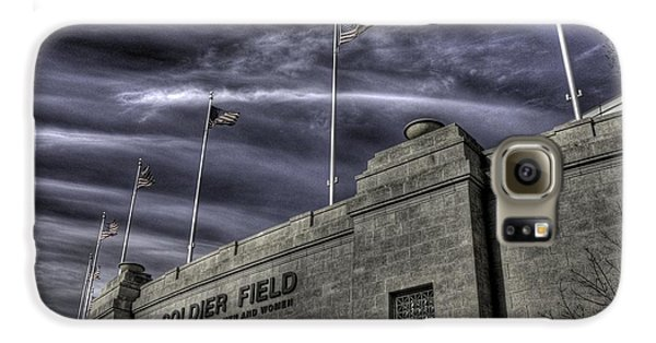 South End Soldier Field Galaxy S6 Case by David Bearden