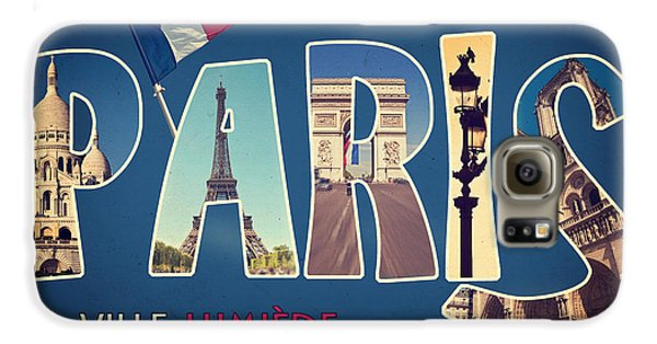 Souvernirs De Paris Galaxy S6 Case by Delphimages Photo Creations