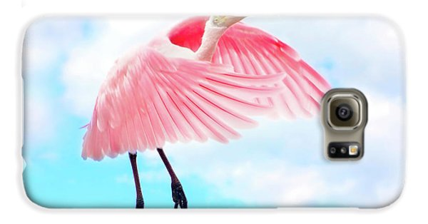 Spoonbill Launch Galaxy S6 Case by Mark Andrew Thomas