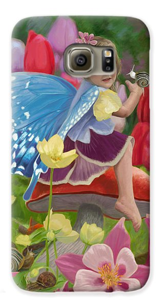 Spring Fairy Galaxy S6 Case by Lucie Bilodeau