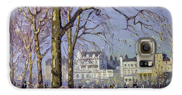 Spring In Hyde Park Galaxy S6 Case by Alice Taite Fanner