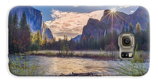 Spring Sunrise At Yosemite Valley Galaxy S6 Case by Scott McGuire