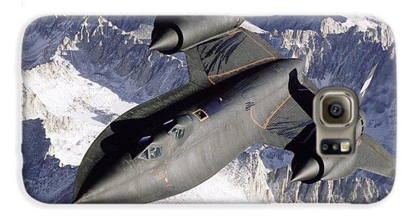 Sr-71b Blackbird In Flight Galaxy S6 Case by Stocktrek Images