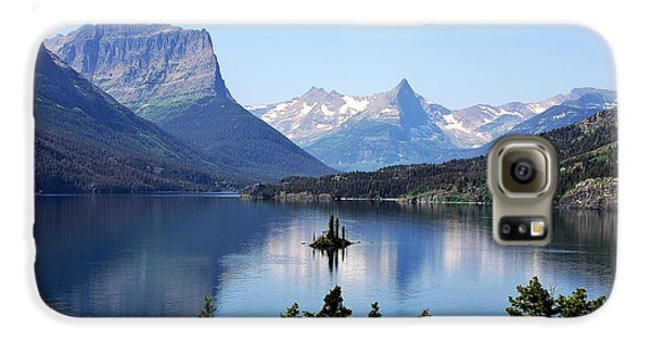 St Mary Lake - Glacier National Park Mt Galaxy S6 Case by Christine Till