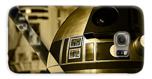 Star Wars R2d2 Collection Galaxy S6 Case by Marvin Blaine