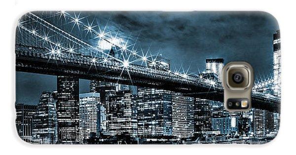 Steely Skyline Galaxy S6 Case by Az Jackson