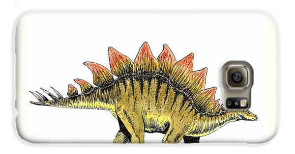 Stegosaurus Galaxy S6 Case by Michael Vigliotti