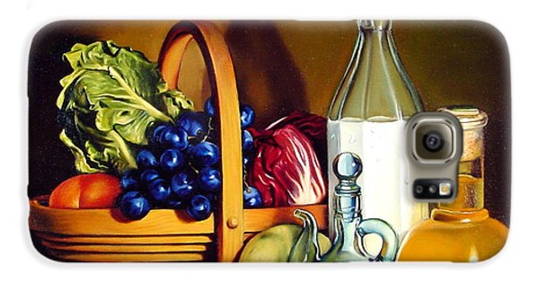 Still Life In Oil Galaxy S6 Case by Patrick Anthony Pierson