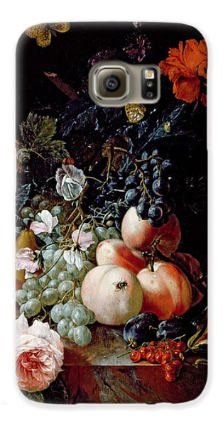Still Life  Galaxy S6 Case by Johann Amandus Winck