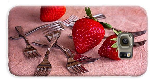 Strawberry Delight Galaxy S6 Case by Tom Mc Nemar