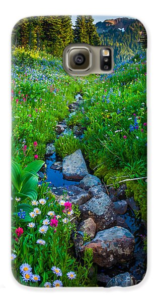 Summer Creek Galaxy S6 Case by Inge Johnsson