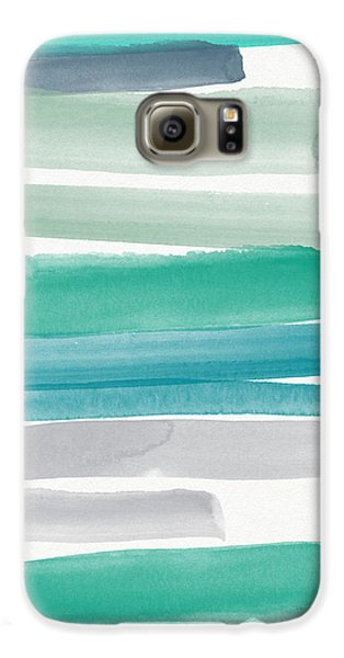 Summer Sky Galaxy S6 Case by Linda Woods