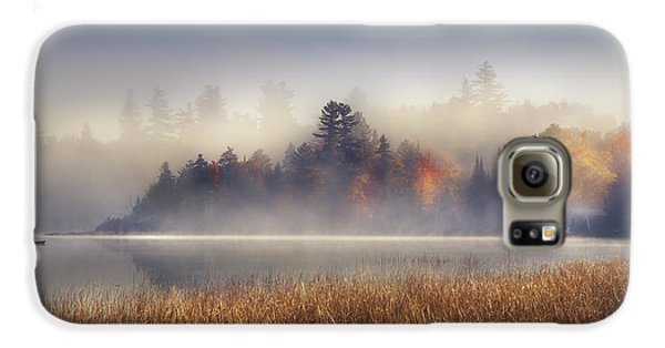 Sunrise In Lake Placid  Galaxy S6 Case by Magda  Bognar