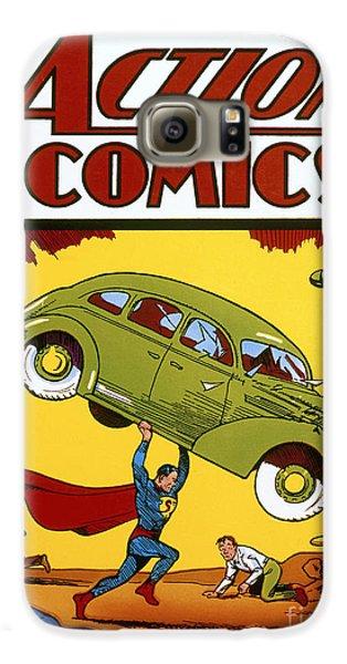 Superman Comic Book, 1938 Galaxy S6 Case by Granger