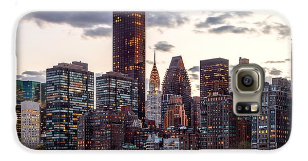 Surrounded By The City Galaxy S6 Case by Az Jackson