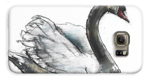 Swan Galaxy S6 Case by Mark Adlington