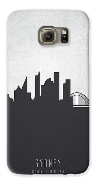 Sydney Australia Cityscape 19 Galaxy S6 Case by Aged Pixel