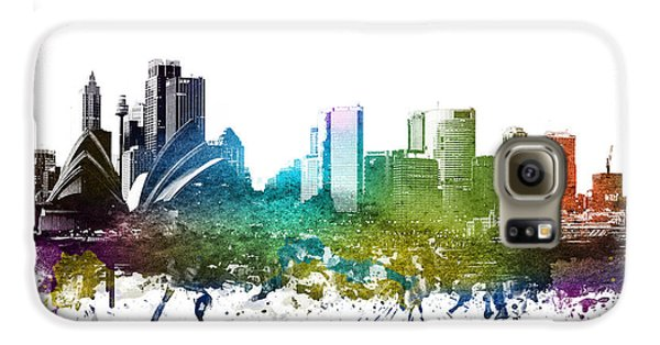 Sydney Cityscape 01 Galaxy S6 Case by Aged Pixel