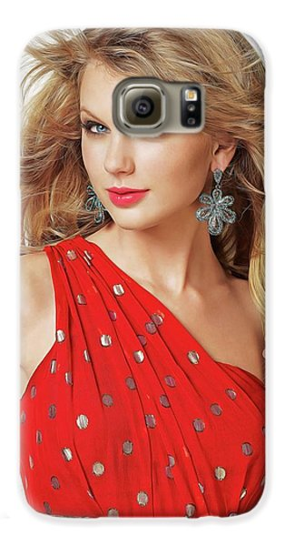 Taylor Swift Galaxy S6 Case by Twinkle Mehta