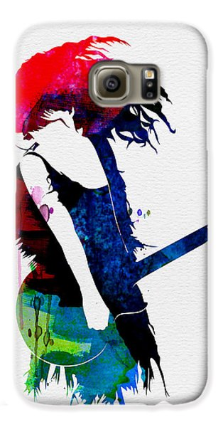 Taylor Watercolor Galaxy S6 Case by Naxart Studio