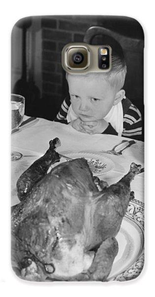 Thanksgiving Dinner Galaxy S6 Case by American School