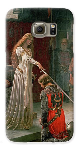 The Accolade Galaxy S6 Case by Edmund Blair Leighton