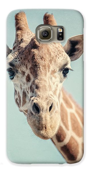 The Baby Giraffe Galaxy S6 Case by Lisa Russo