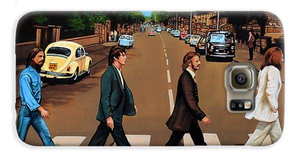 The Beatles Abbey Road Galaxy S6 Case by Paul Meijering