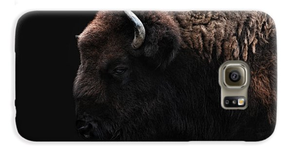 The Bison Galaxy S6 Case by Joachim G Pinkawa